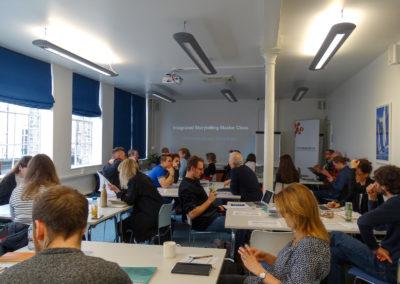 Integrated Storytelling MasterClass, London, February 2019