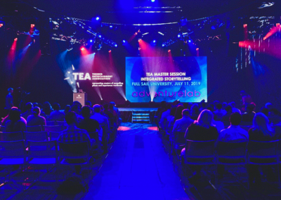 Integrated Storytelling Master Session, Orlando, July 2019