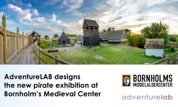 New Bornholm's Medieval Center exhibition designed by AdventureLAB