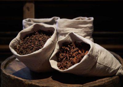 Spices for sensory experience. Photo by Bornholms Middelaldercenter